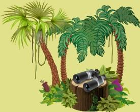 Kümmere dich um die Dschungeltiere der anderen Spieler in deinem Tropenreservat, damit sie mit Hilfe der Angestellten deines Tropenreservates fortschreiten.